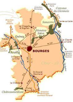 carte vins blanc centre loire, bourgogne, #france   #www.frenchriviera.com