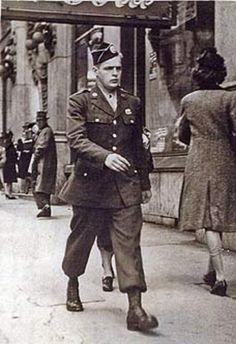 Don Malarkey on leave in Atlanta 1943