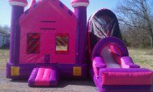 Princess 4in1 Combo = $200.00 All day rental  Murfreesboro tn 37129 615-438-0195 borobounceandpartyrentals.com Serving Nashville and surrounding areas