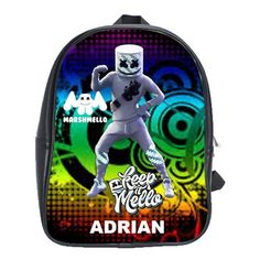 FORTNITE MARSHMELLO EVENT LEATHER XL BACKPACK Marshmello Alone, Dj Marshmello, First Day Of School, Pre School, Gifts For Kids, Great Gifts, Battle Royale, Game R, Cool Backpacks