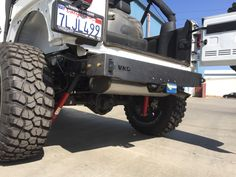 Our Rear Frame Cap gives the rear of the Jeep JK a nice finished look for those…