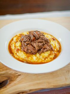 Dinner Party Recipe: Braised Shredded Beef in Tomatoes & Red Wine Recipes from The Kitchn