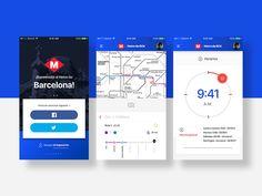 Barcelona Metro App by Aaron Márquez