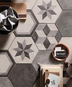 Decorative Porcelain Tile Mesmerizing Casablanca Range  Mandarin Stone  Decorative Hexagon And Square Inspiration