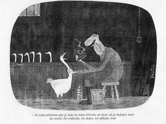 Une oie se gave sur trois semaines, une oie blessée est perdue. Pas folichon. Mais il y a des geôliers qui traitent bien pire des femmes et des enfants dans la plus totale indifférence.