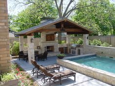 Best Experience Of Outdoor Living Outdoor Kitchen Patio, Outdoor Kitchen Design, Outdoor Rooms, Outdoor Living, Outdoor Patios, Outdoor Kitchens, Outdoor Fireplace Designs, Outdoor Patio Designs, Backyard Patio Designs