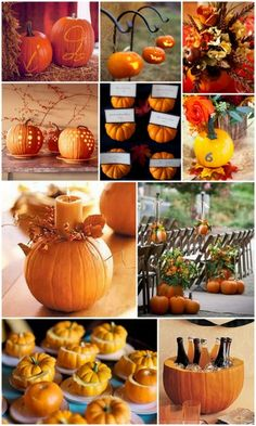 Fall Pumpkin Ideas for Your Fall Wedding from HotRef.com #fallwedding #pumpkin #fallweddingideas
