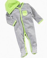 First Impressions Baby Coverall, Baby Boys Striped Coverall