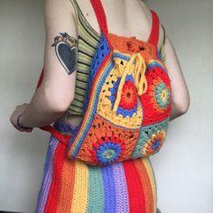 Débardeurs Au Crochet, Learn To Crochet, Cute Crochet, Crochet Crafts, Crochet Projects, Sewing Crafts, Crochet Fashion, Diy Fashion, Crochet Clothes