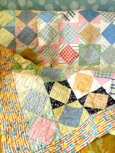 Square in a square - sweet simple quilt