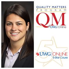 Congrats to Mariana Sanchez of the Department of Management of the Richards College of Business, on the successful completion of the UWG Online QM Training Program! Further congratulations for her UWG Online 5-Star Recognized course for 2014-2015! #UWG #uwgonline #blazingtrailstonewpossibilities #qualitymatters