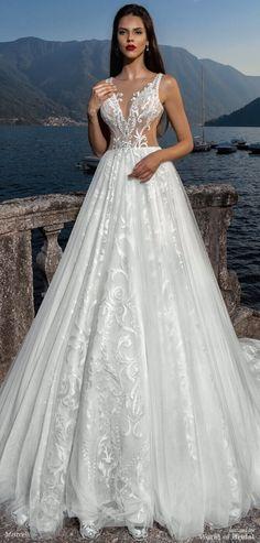 Mistrelli 2018 Wedding Dress.  Luxury!