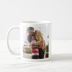 Memorable Family Holiday Christmas Photo Mug Christmas Mugs, Christmas Holidays, Christmas Cards, Xmas, Christmas Ideas, Holiday Photos, Christmas Photos, Cute Mugs, Meaningful Gifts