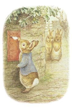 """Beatrix Potter  """"Thank goodness I was never sent to school; it would have rubbed off some of the originality."""" -- Beatrix Potter"""