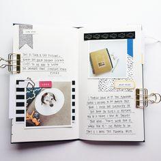 Banafishstudio Traveler's Notebook Project Life layout