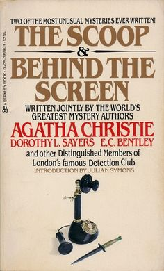 Click to read more about Covers: The Scoop [and] Behind the Screen by Agatha Christie.  LibraryThing is a cataloging and social networking site for booklovers