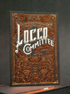 Business Cards design - Locco Committee Innovative incredible design and quality