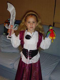 "My Daughter's ""Princess Pirate"" Costume"
