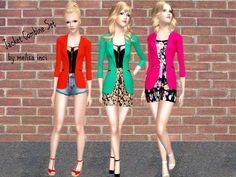 Jacket Combine Set by Melisa Inci  http://www.thesimsresource.com/downloads/1175437