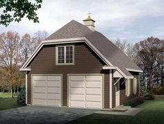 Traditional Garage Plan 49027