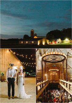 Wedding reception at The Grove at Williamson Place in Murfreesboro, Tennessee