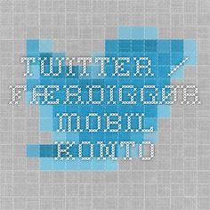 Twitter / Færdiggør mobil-konto