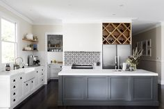 Real Reno: Weatherboard kitchen, laundry and bathroom reno with a nod to the past
