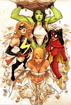 Women of Marvel.