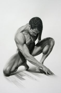 The Beautiful Drawings of John Wieser Model Sketch, Art Model, Human Reference, Drawing Reference, Drawing Poses, Beautiful Drawings, Figure Drawing, Human Body, Athlete