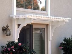 Image result for small porch around patio door