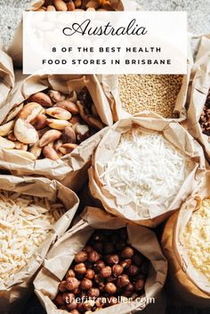 The best health food stores in Brisbane. From those selling organic food in Brisbane to traditional health food shops in Brisbane to buy up your health food shopping list. Perfect for vegans, vegetarians, Paleos or health-conscious travelers alike. #brisbane #healthy @thefittraveller Great Barrier Reef, South Wales, World Recipes, Whole Food Recipes, Brisbane, Health Food Shops, Food Shopping List, Packing, Bulk Food