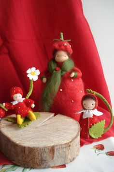 adorable strawberry family.