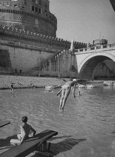 "Roma ""de na vorta"", Castel Sant Angelo, fiume Tevere"