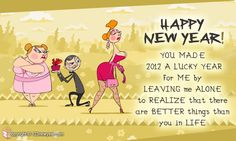 Funny New Year Cards