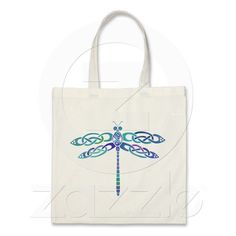 Celtic Dragonfly Bags