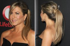Sometimes, You Need To Wear Your Hair Like Jennifer Aniston. Get the How-To Here.: Beauty How-Tos: Lipstick.com