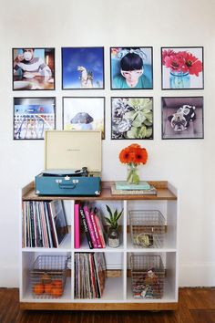 Refresh your walls with this easy #DIY record frame idea — for showing off your greatest Instagram hits.