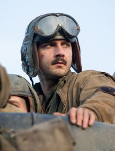 """FURY"". Boyd 'Bible' Swan / Shia LaBeouf"