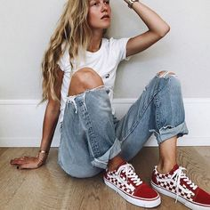 Unravel Casual Outfit inspirations (but neat) design and style girls will probably be dressing this season. Mode Outfits, Trendy Outfits, Fall Outfits, Jean Outfits, Hipster Summer Outfits, Dress Outfits, School Outfits, Look Fashion, 90s Fashion