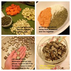 I like this recipe but I want to cut the pellets and oats in half and substitute parsley, mint and thyme. :)