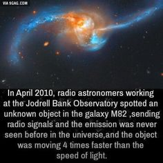 Space Facts Anything moving faster than the speed of light would be unobservable OR It was Thor returning to Asgard - Share with your friends now Astronomy Facts, Astronomy Science, Space And Astronomy, Science Nature, Wow Facts, Wtf Fun Facts, Random Facts, Random Stuff, Cool Science Facts