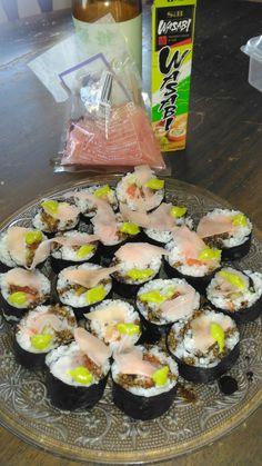 Homemade beginners sushi I made