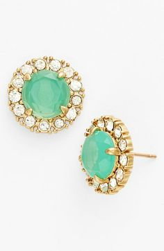 secret garden mixed stone earrings / kate spade