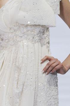 Elie Saab Haute Couture F/W 2009, detail