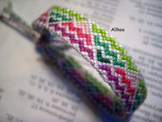 colorful friendship bracelet #63437 by Allkoo - friendship-bracelets.net