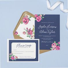 Invite your friends and family to your wedding day with our modern floral Harlow wedding invitation featuring modern typography and abstract watercolour botanicals. Rustic Wedding Stationery, Floral Wedding Invitations, Invites, Kraft Envelopes, White Envelopes, Wedding Cards, Wedding Day, Modern Typography, Personalized Invitations