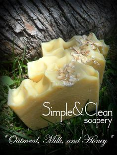 Oatmeal Milk and Honey Handcrafted Soap by SimpleandCleanSoap, $5.00