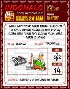 Kode Taysen 3D Togel Wap Online Indonalo Bandung 28 Mei 2017