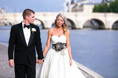 Need a Paris wedding photographer? We'll capture images at your venue as well as photos of you in gorgeous sights around Paris. Paris Wedding, Wedding Flowers, Wedding Dresses, Groom, Bouquet, Bride, Weddings, Elopements, Image