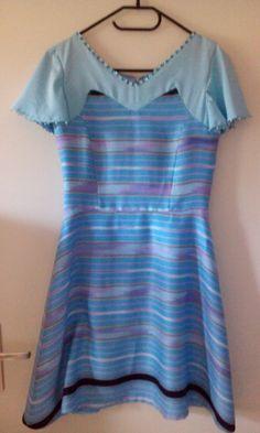 Jurk voor mijn klant. Karen jurk.  ik ben blij dat ik mag voor haar ontworpen en maken. Love this dress.